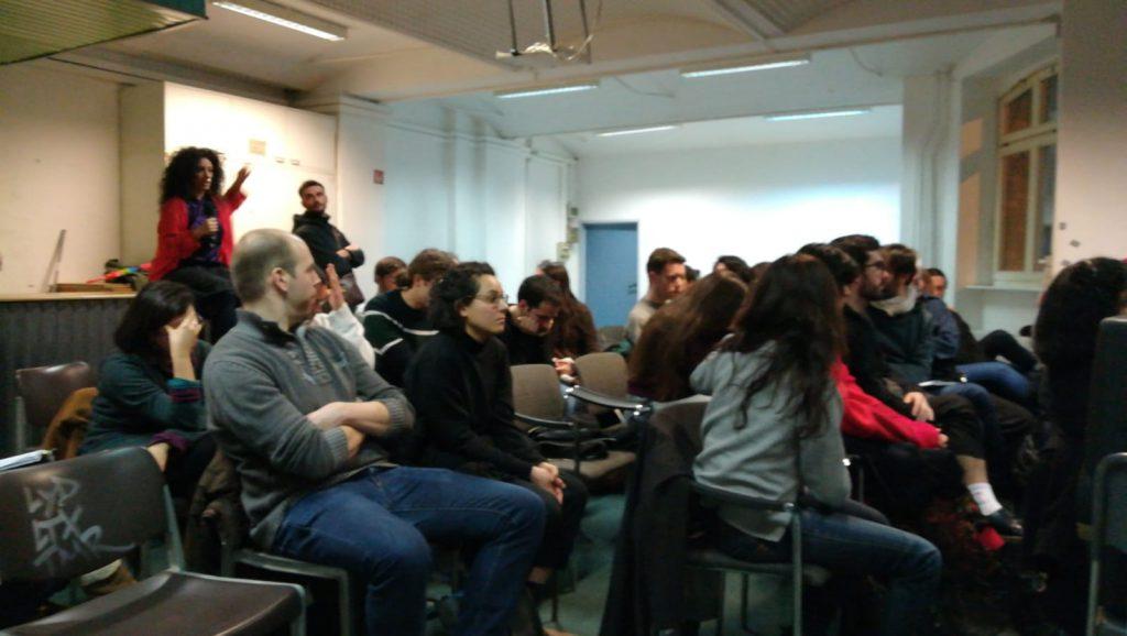 Charla sobre RBU en el círculo de Podemos de Berlín