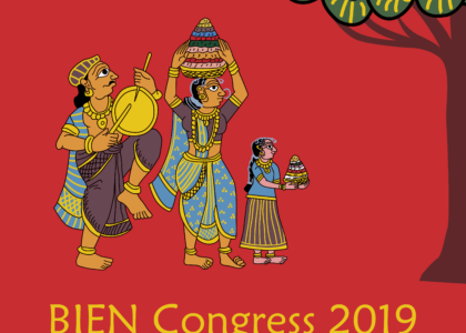 Congreso de BIEN 2019 en Hyderabad (India)