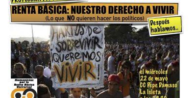 """Proyección de """"RBUI, nuestro derecho a vivir"""" en el CC Pepe Dámaso de Las Palmas"""