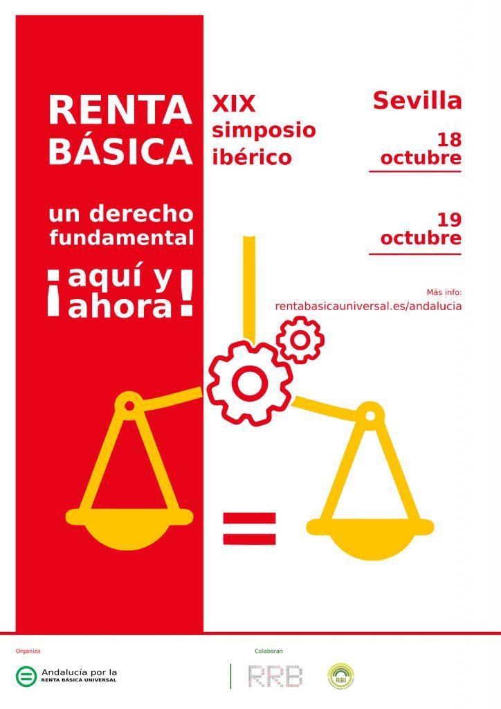 XIX Simposio Red Renta Basica en Sevilla, 18 y 19 de octubre de 2019