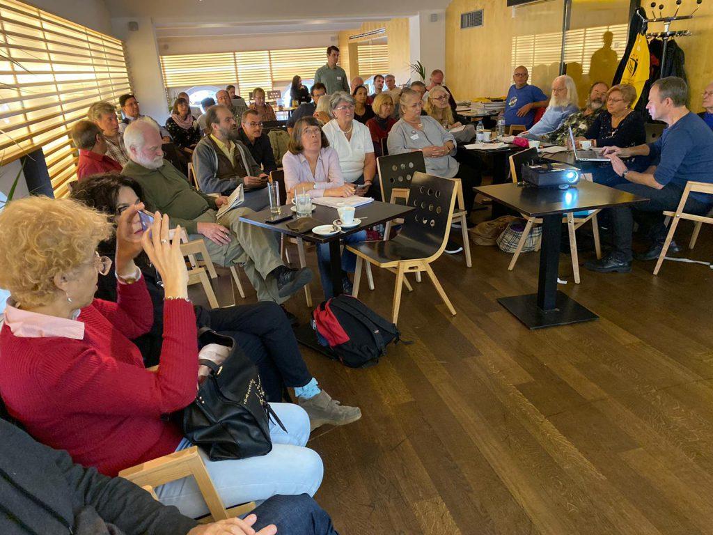Reunion de UBIE en Viena en octubre de 2019